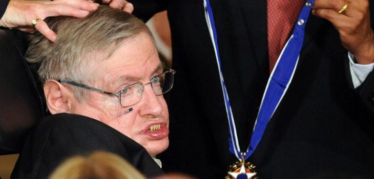 El lazo que une a Stephen Hawking con