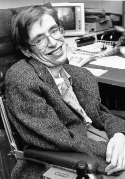 Stephen Hawking en los años 80 (CC) Wikimedia Commons
