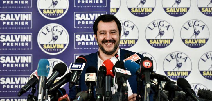 Matteo Salvini. Piero Cruciatti | Agence France-Presse