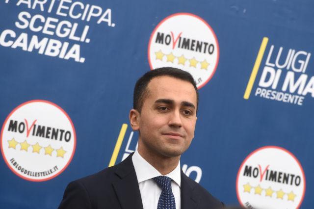 Di Maio. Filippo Monteforte | Agence France-Presse