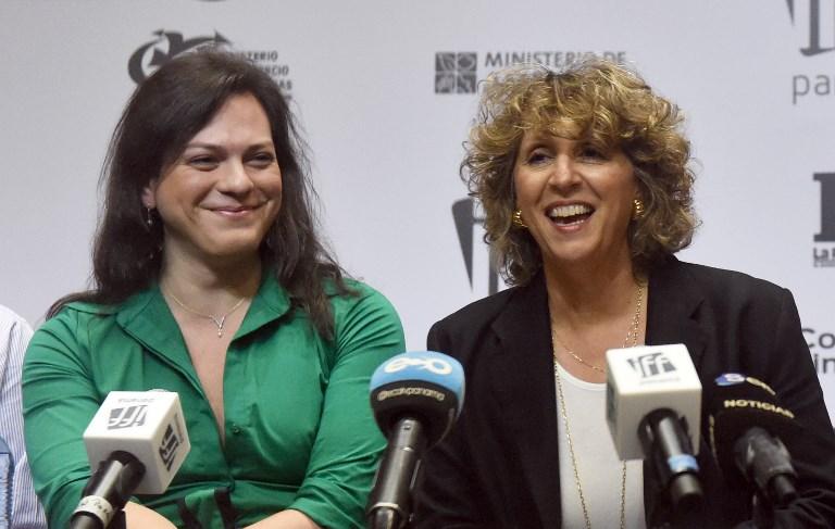 Daniela Vega y  Pituka Ortega