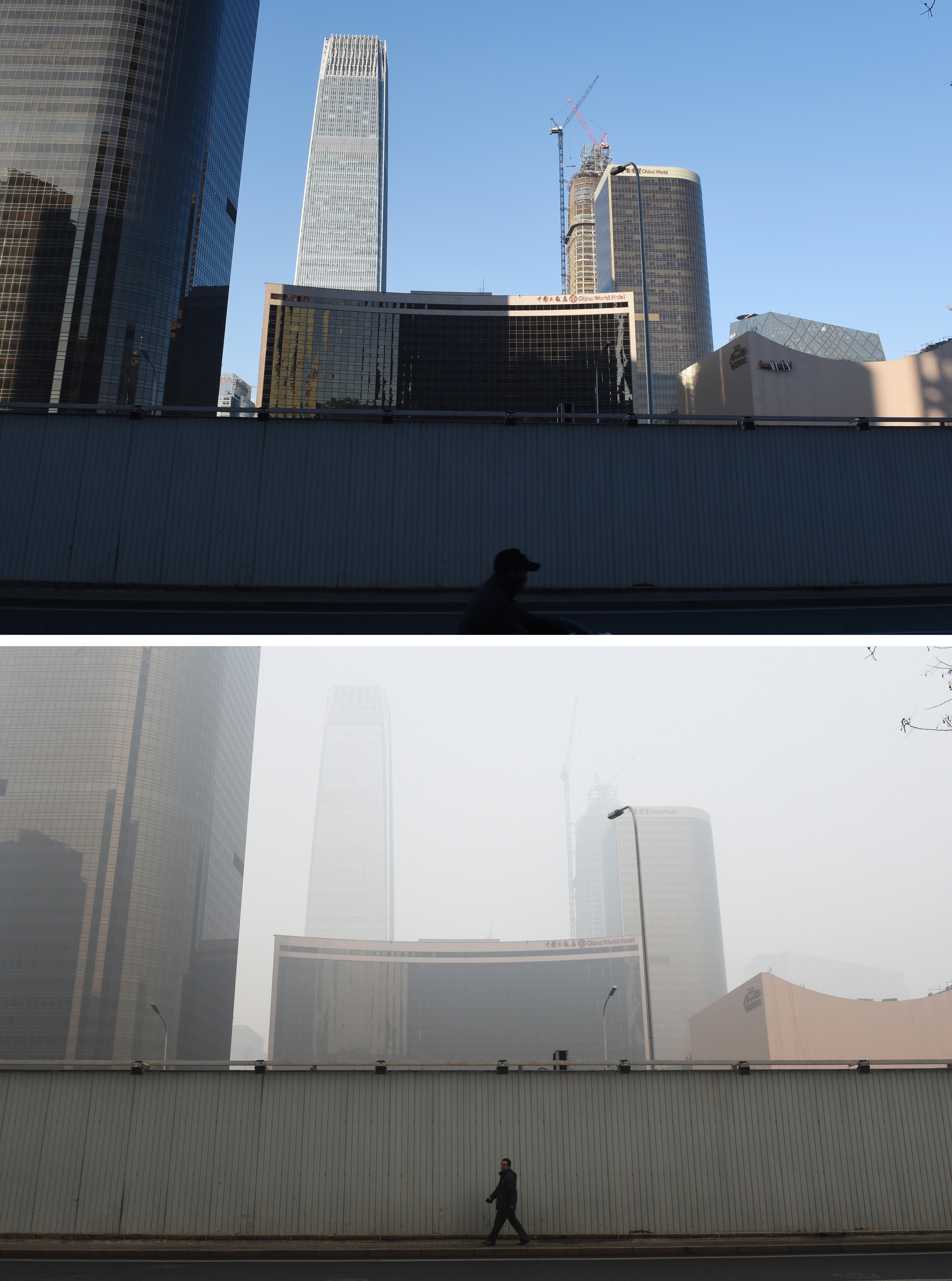 10 de diciembre (arriba) y 9 de diciembre (abajo) | Greg Baker | Agence France-Presse