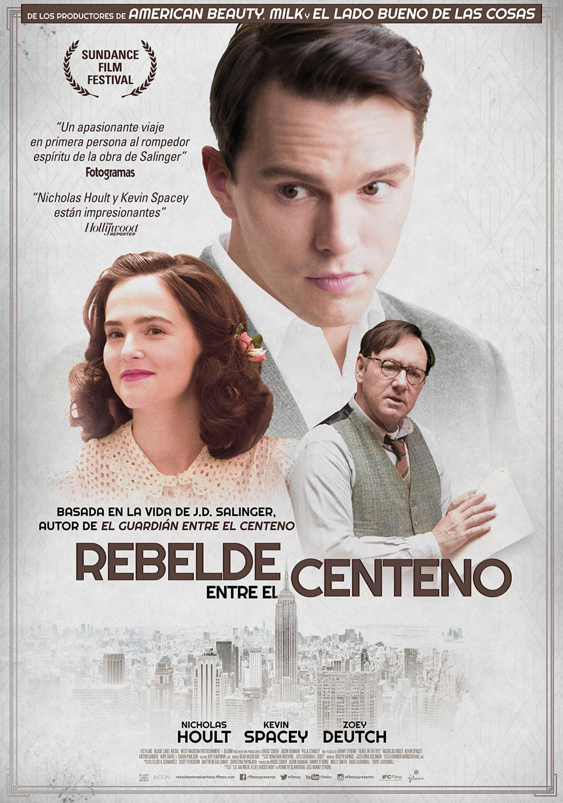 """El afiche de """"Rebelde entre el Centeno""""."""