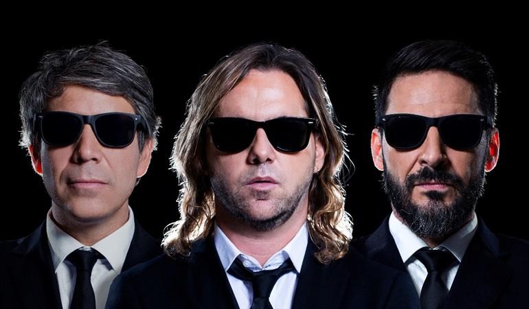 Gonzalo Feito, Sebastián Eyzaguirre y Rafael Cavada