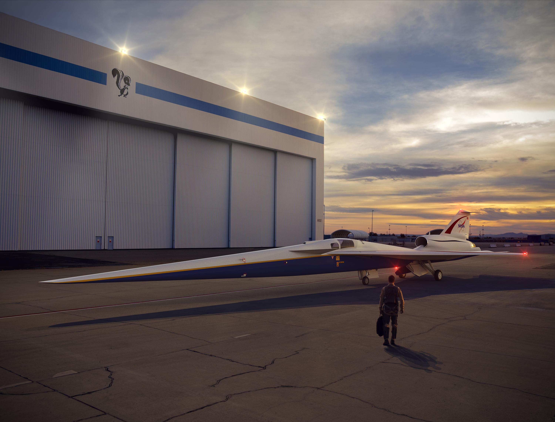 Ilustración del avión | Handout | NASA | Agence France-Presse
