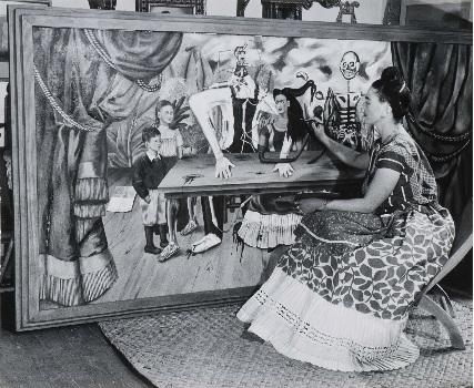 Frida Kahlo, fotografía de Bernard Silberstein, CCPLM (c)
