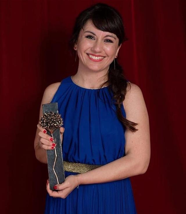Carolina Astudillo en el Festival de Cine de Málaga en 2018.