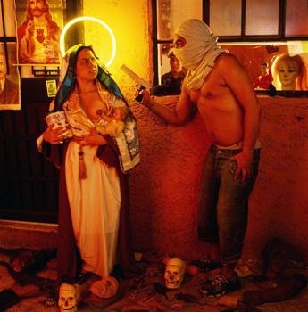 El atraco de la Virgen y el niño Jesús, Nelson Garrido (c)