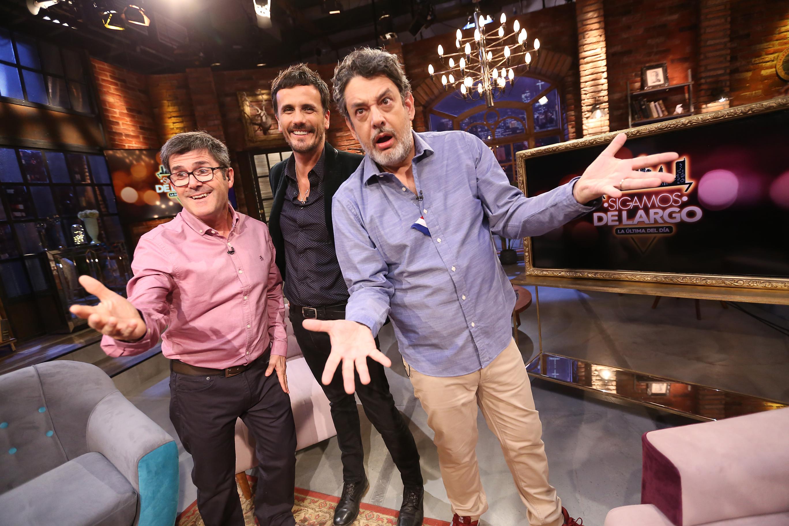 Marcelo Comparini, Sergio Lagos y Marco Silva