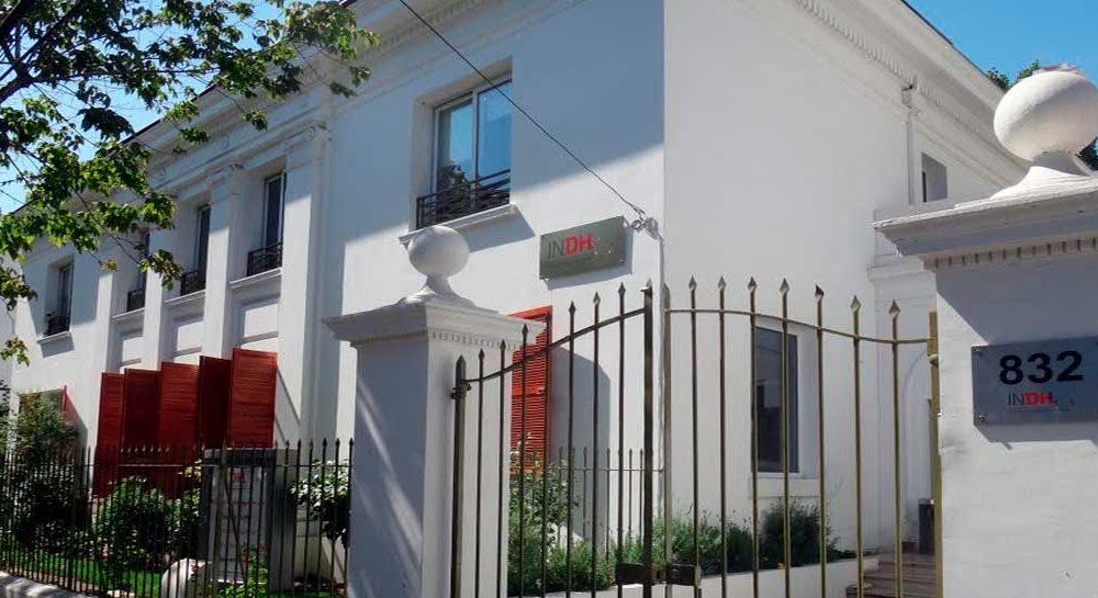 La sede del INDH en Eliodoro Yañez, Santiago