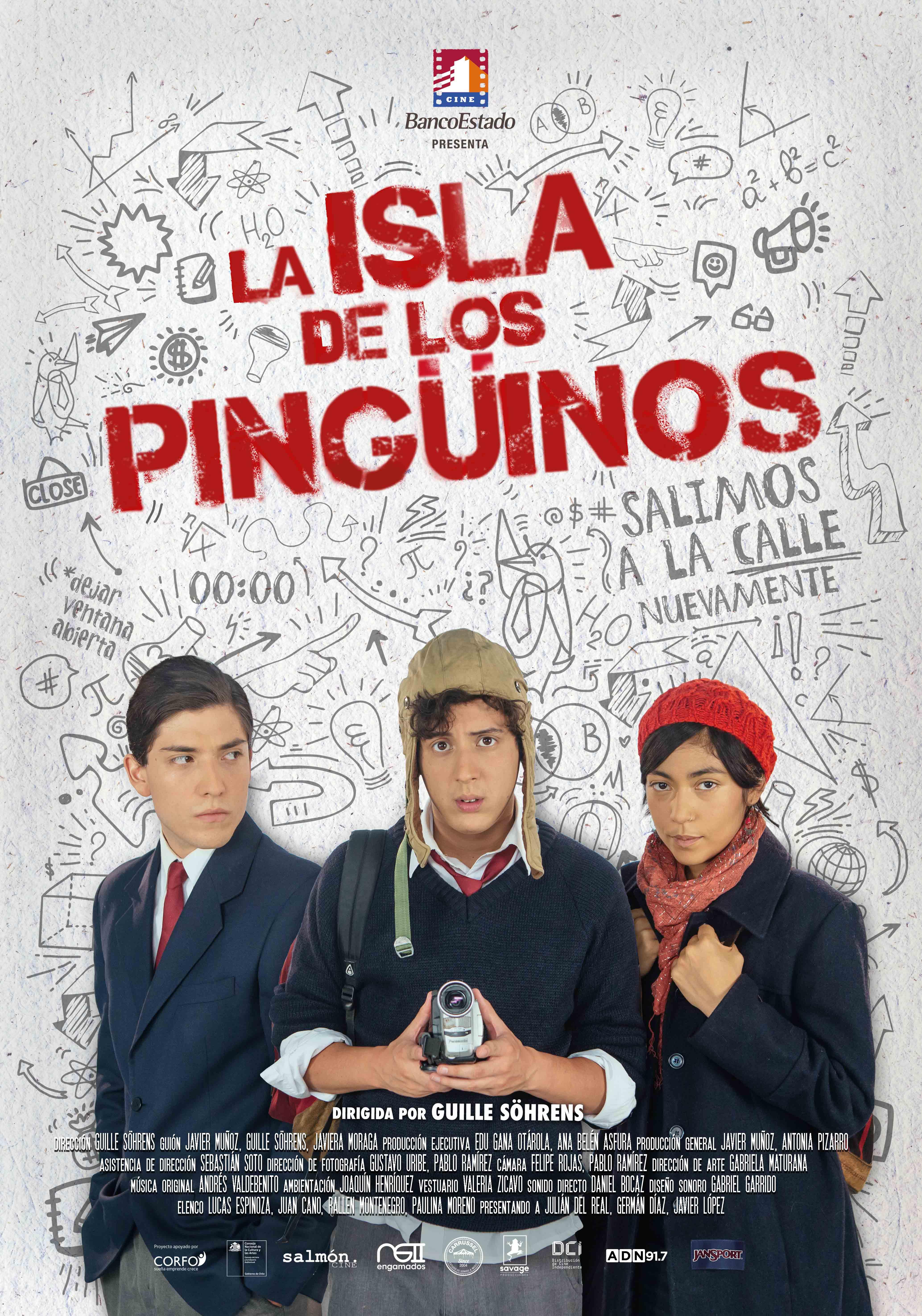 """""""La isla de los pingüinos""""."""