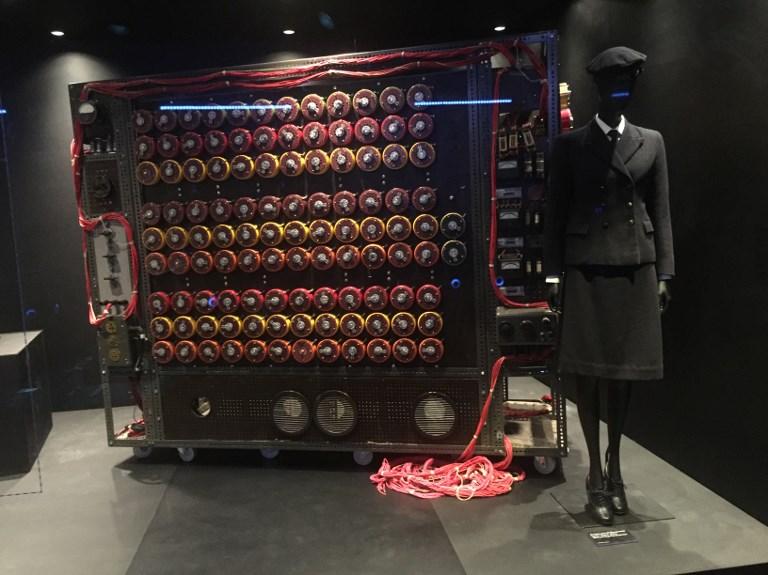 Máquina de Alan Turing en el museo | Thomas Urbain | AFP