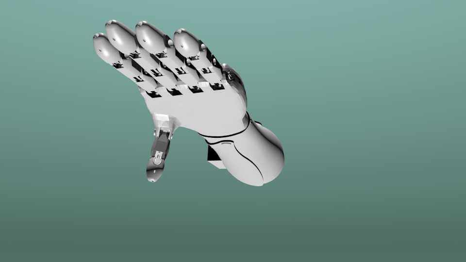 Prótesis para mano 3D funcional