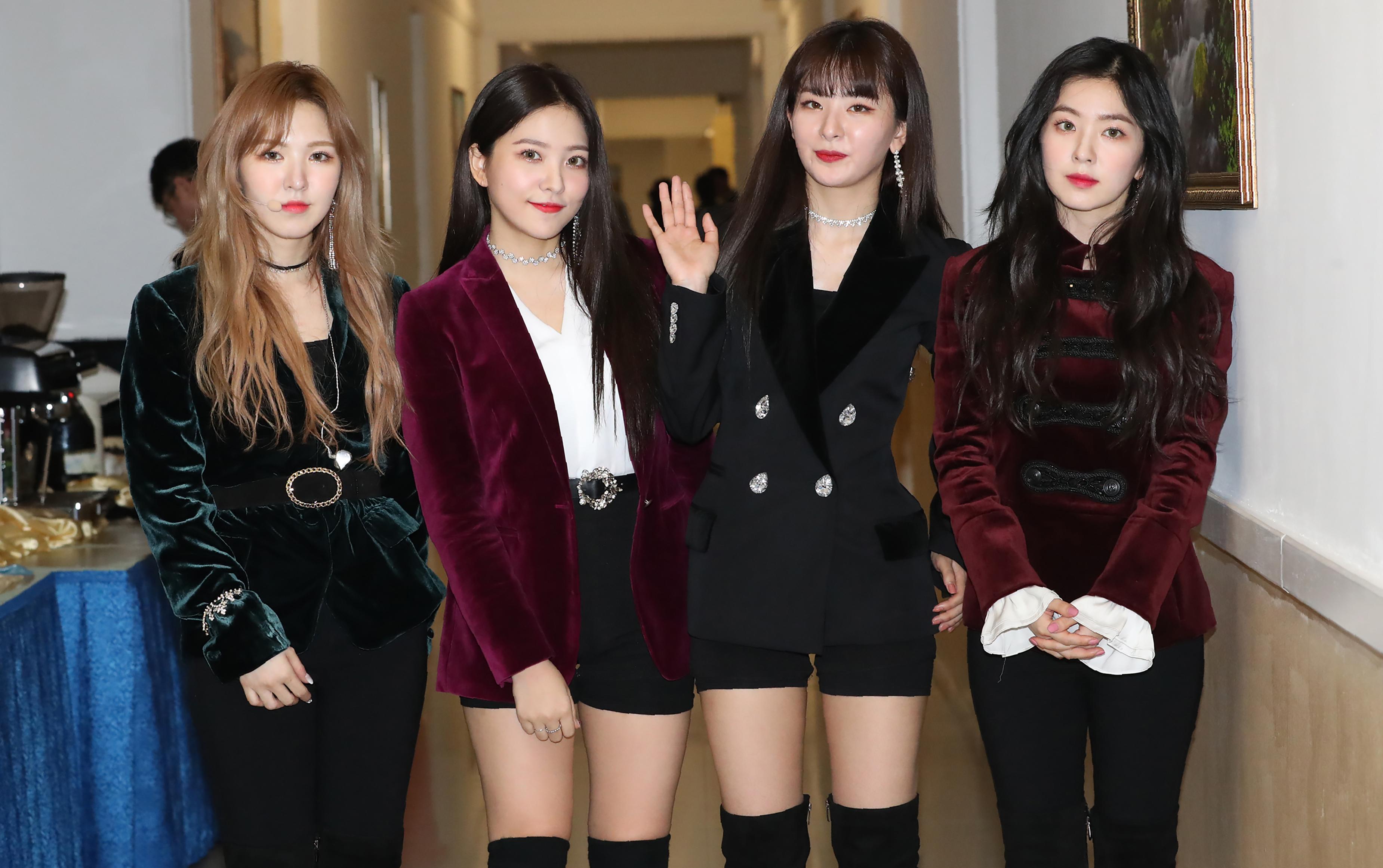 Red Velvet en concierto en Corea del Norte | Korea POOL | AFP