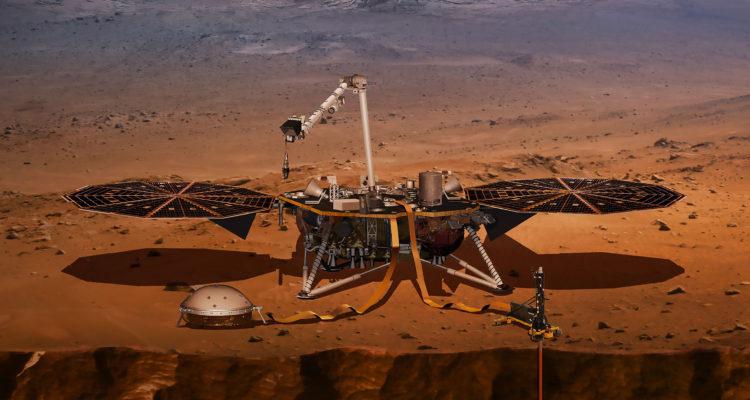 Sonda InSight de la NASA estudiará los terremotos de Marte