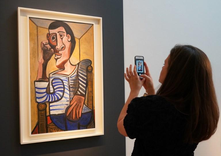 """""""El marinero""""  de  Picasso"""