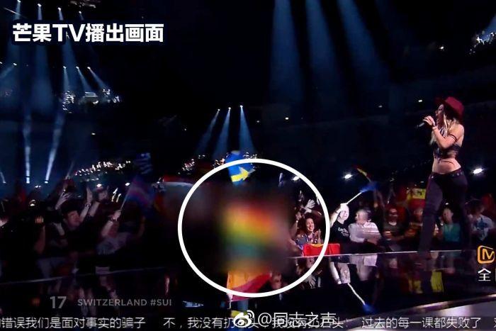 Censura a Eurovisión en China