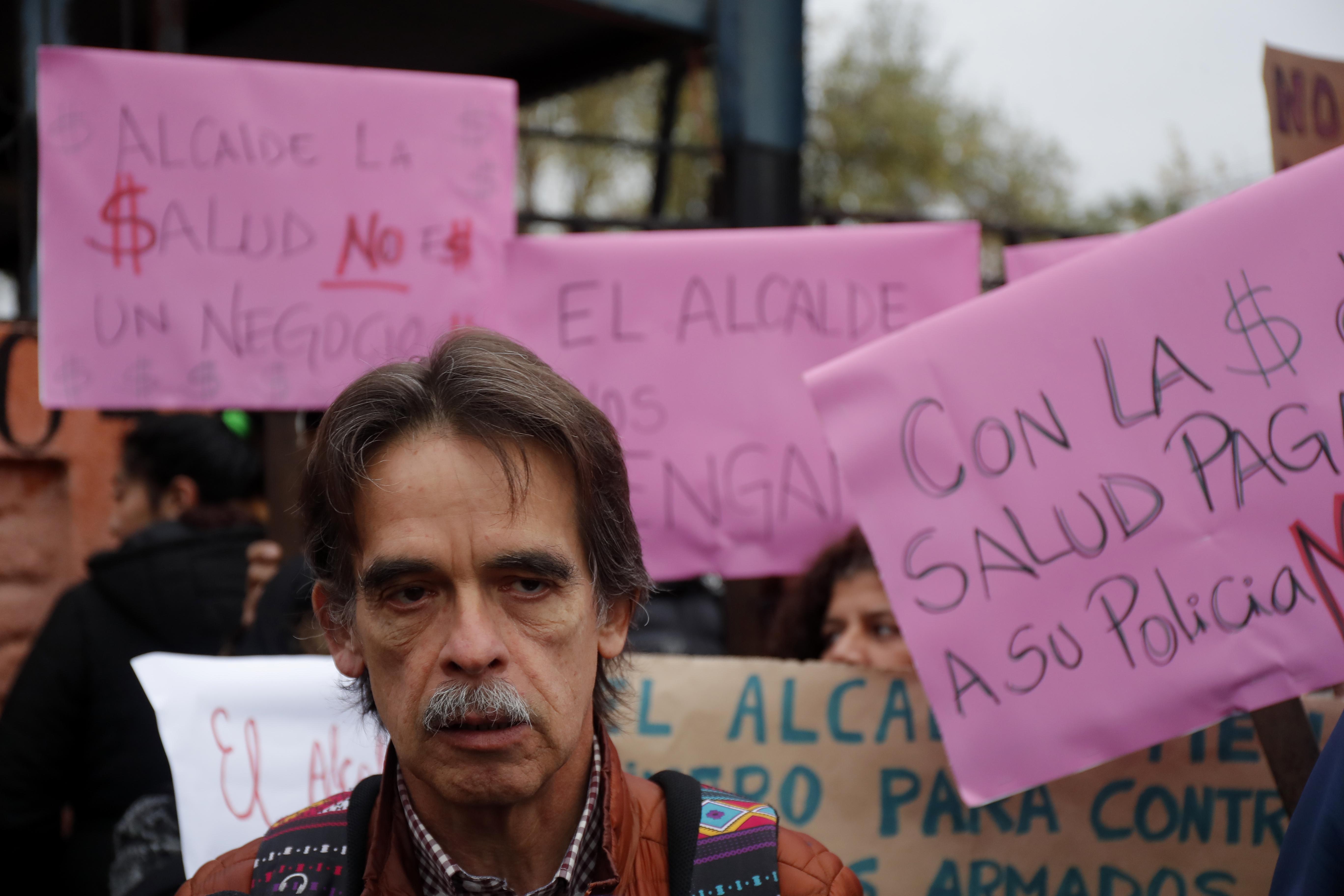 Presidente de la Confusam, Esteban Maturana. Francisco Flores Seguel | Agencia UNO