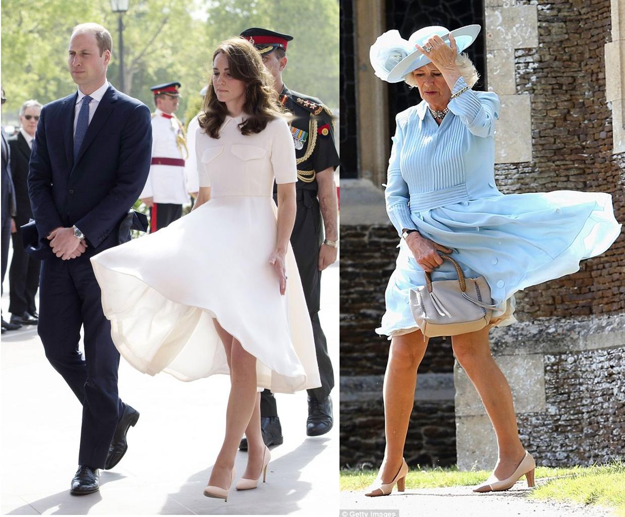 Kate Middleton y Camilla Parker Bowles