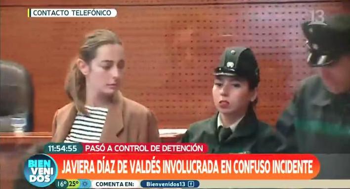 """Captura """"Bienvenidos"""" de Canal 13"""