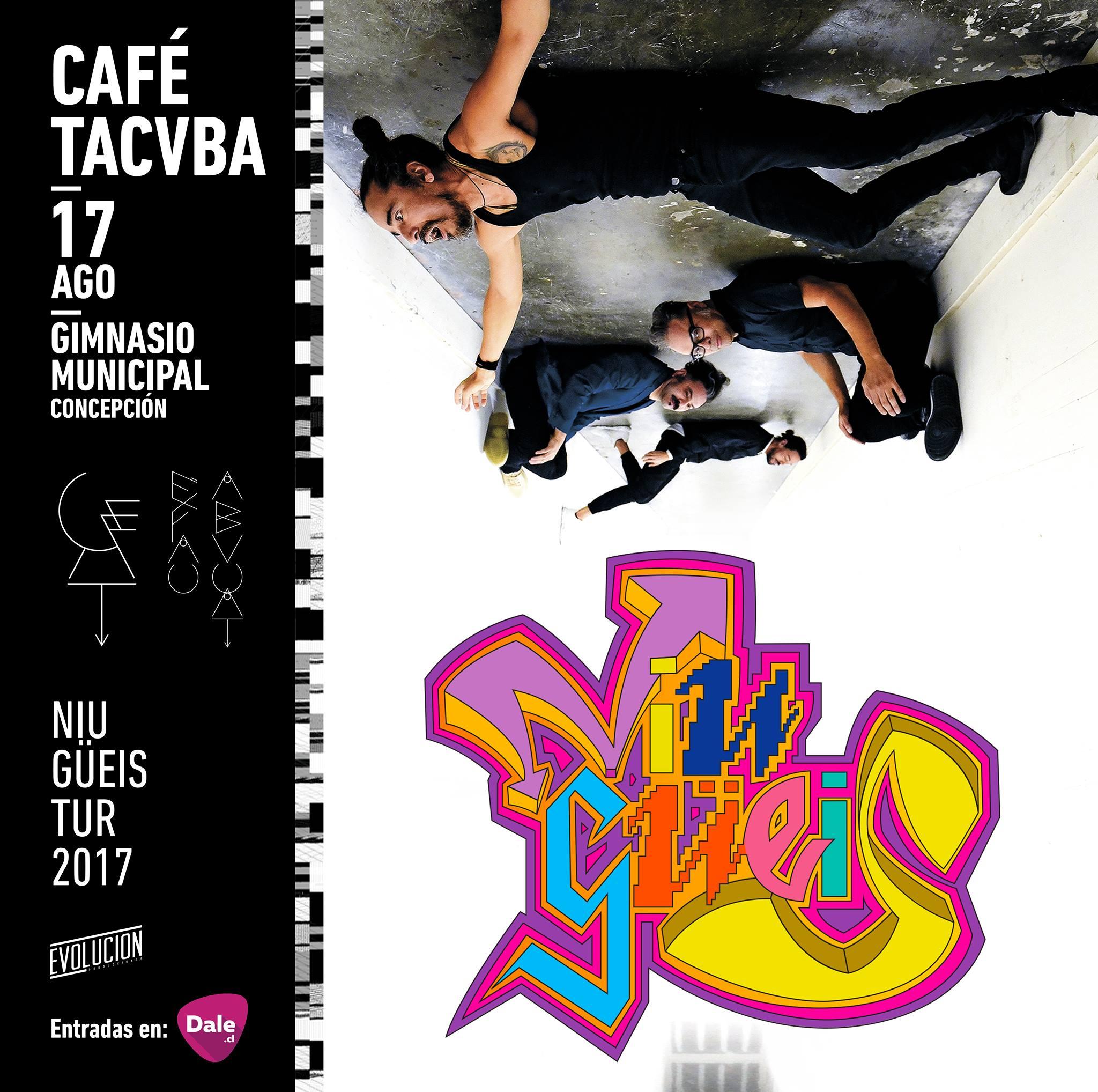 Café Tacuba en Concepción.