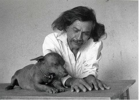 Flor Gorduño, Francisco Toledo, México, 1997, CCPLM (c)