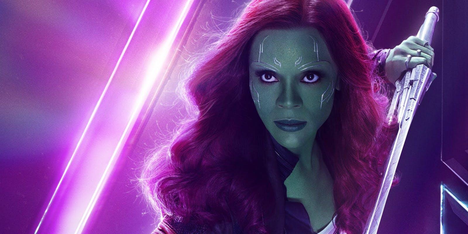 Gamora | Los Vengadores: la guerra del infinto (2018)