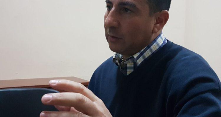 Cristian Ajraz en entrevista en la CAS