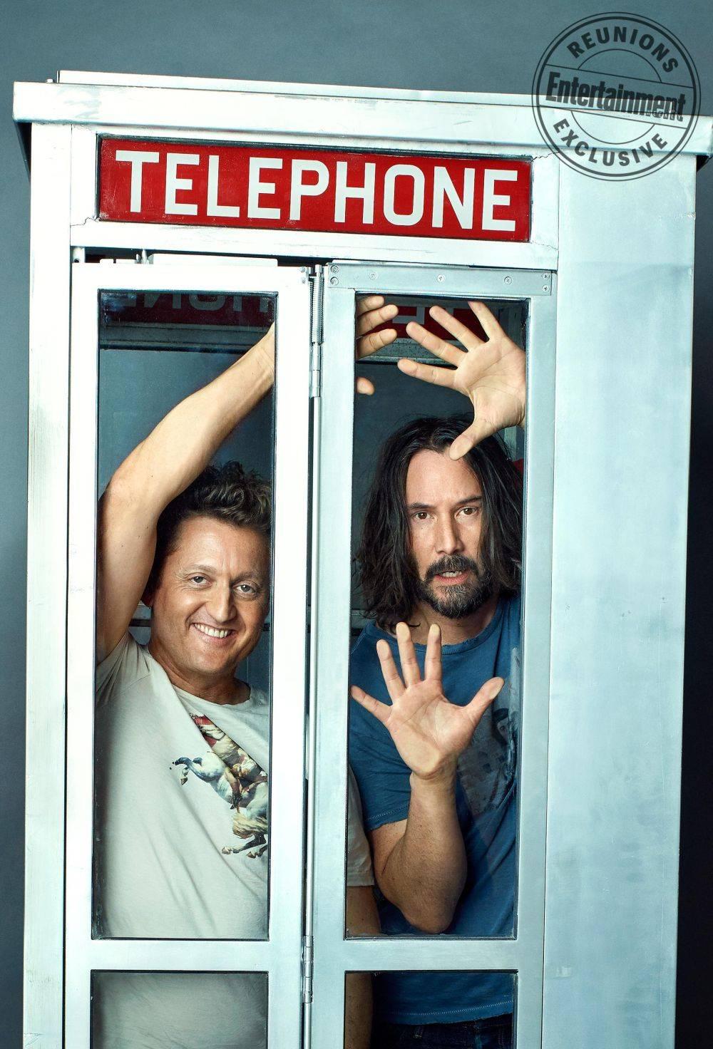 Alex Winter y Keanu Reeves   Entertainment Weekly