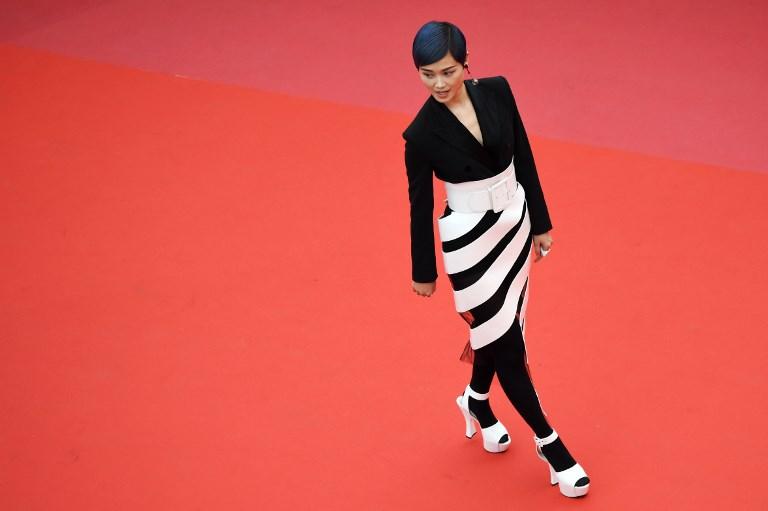 Li Yuchun (Chris Lee) en Cannes 2018 | Valery Hache | AFP