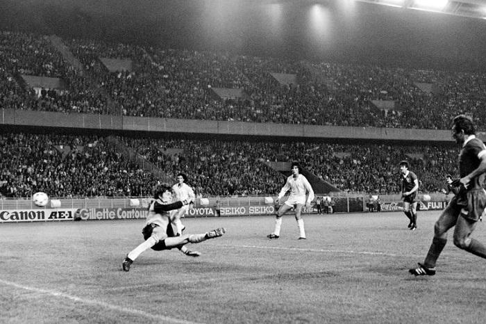 Otro ángulo del gol de Kennedy | Archivo | Agence France-Presse