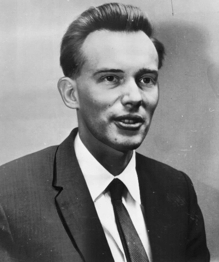 El fotógrafo Malcolm Browne en 1964 (CC) Wikimedia Commons