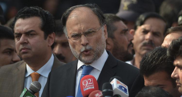 Ministro del Interior de Pakistán fue herido de bala
