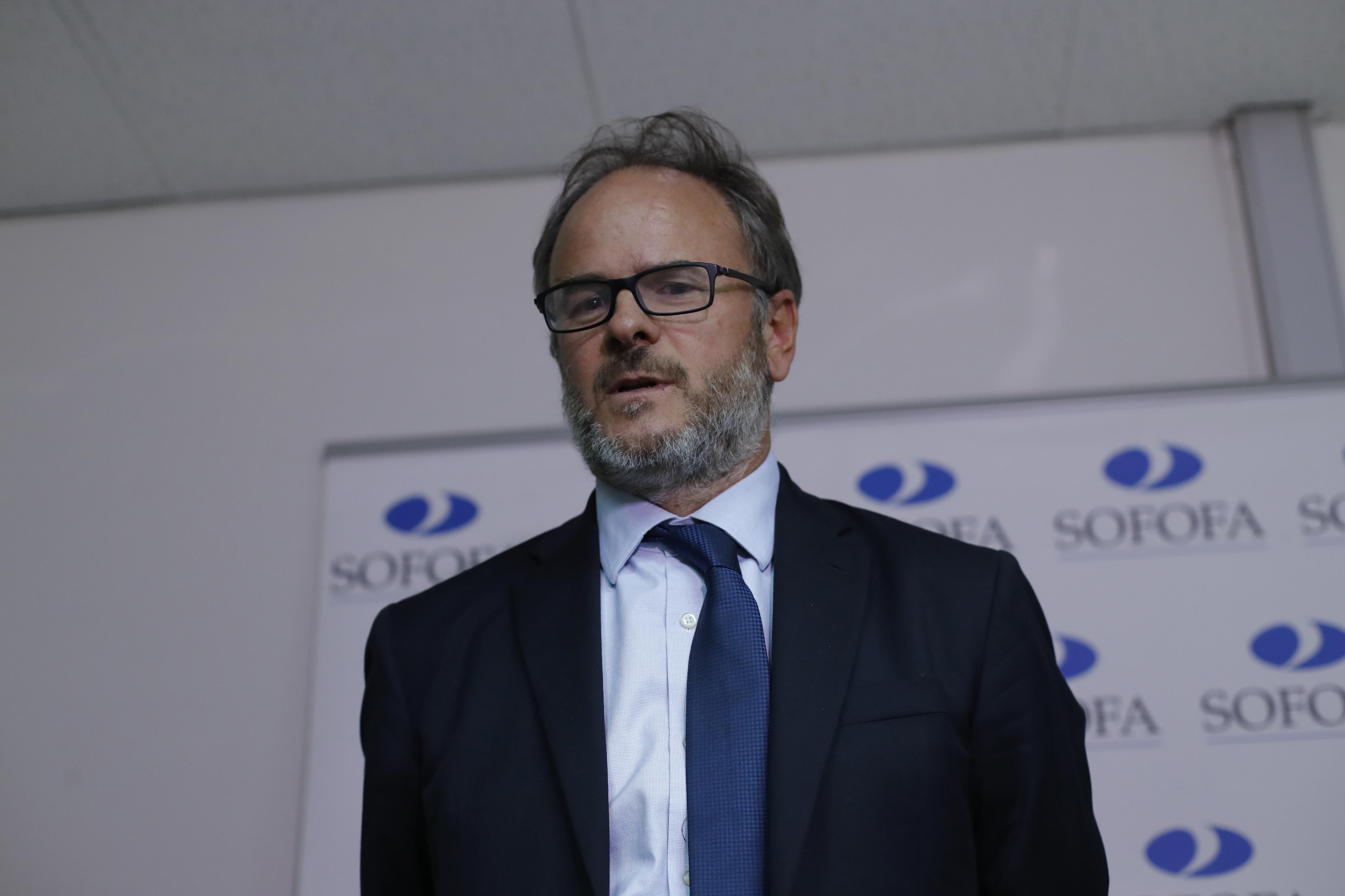 Bernardo Larraín Matte. Francisco Flores Seguel | Agencia UNO