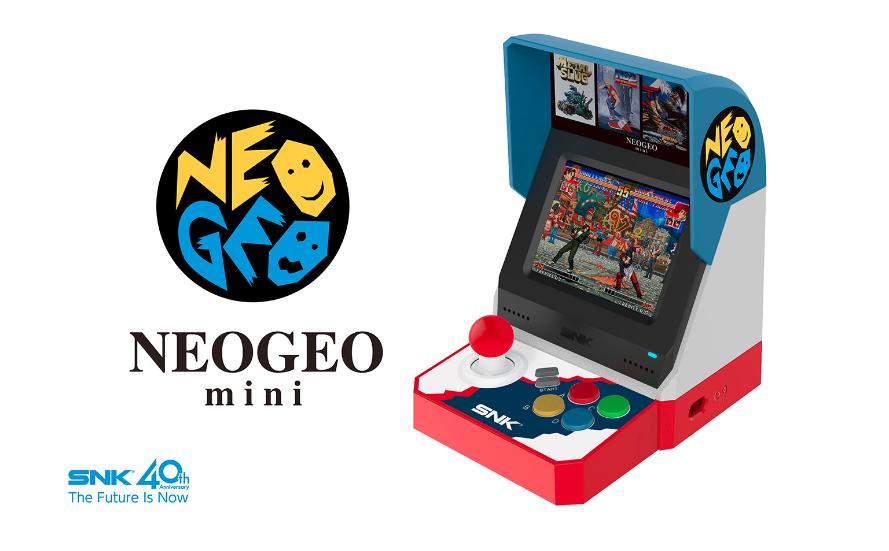 La versión de la Neo Geo Mini para Asia