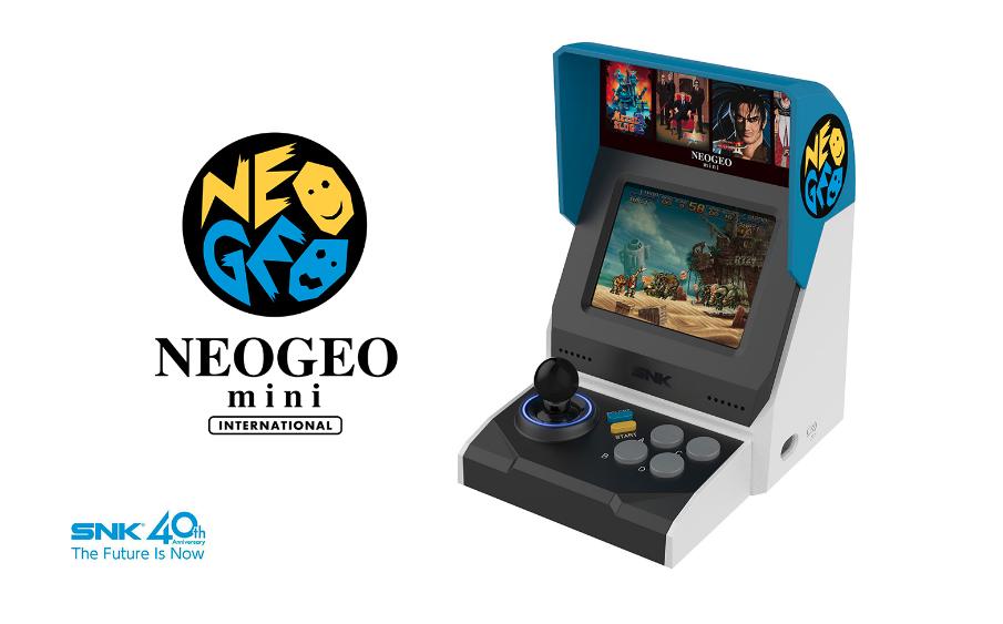 La versión de la Neo Geo Mini para occidente