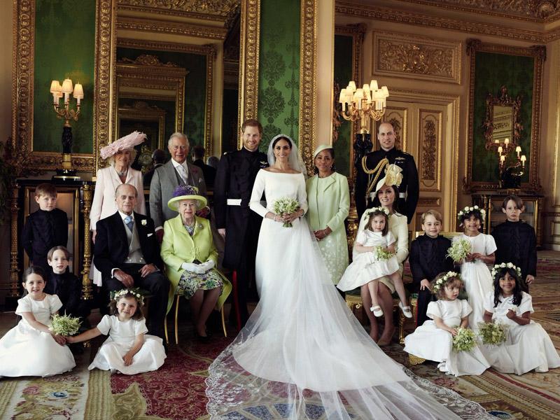Imágenes oficiales de la Familia Real