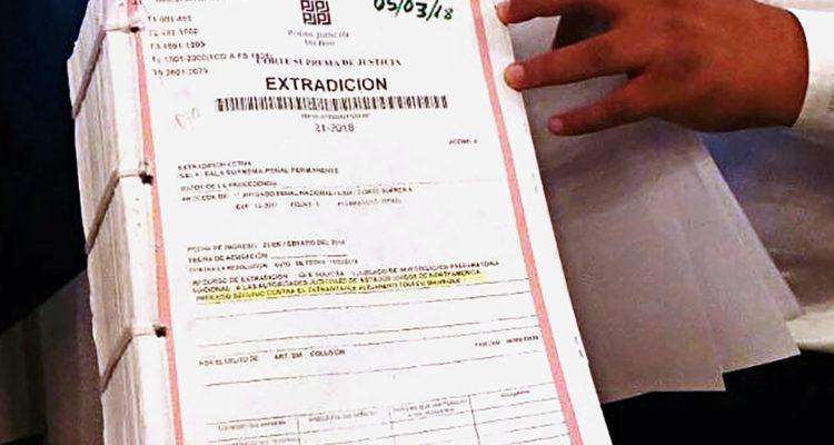 Justicia peruana. Francisco Medina | Agence France-Presse