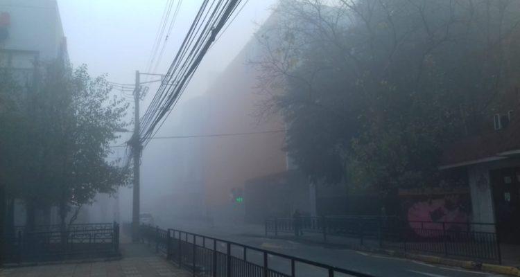 Los �ngeles amaneció cubierta de neblina este miércoles | Jorge Monares (RBB)