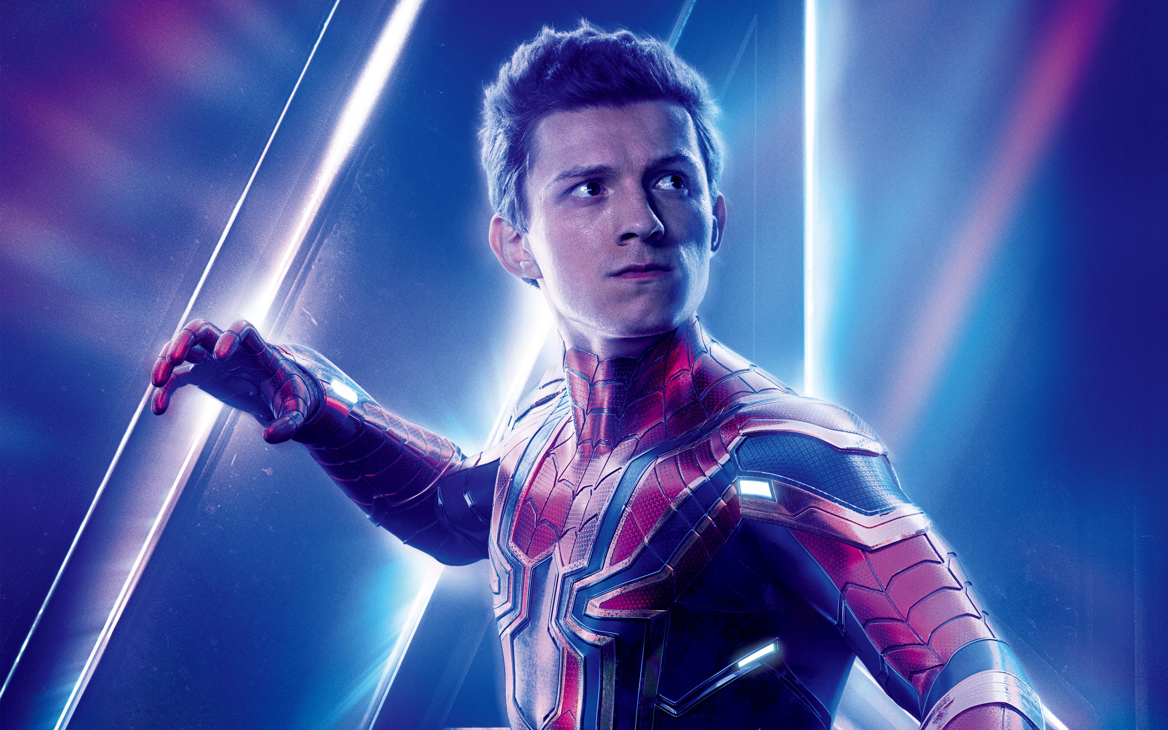 Tom Holland como Spider-Man | Los Vengadores: la guerra del infinito (2018)