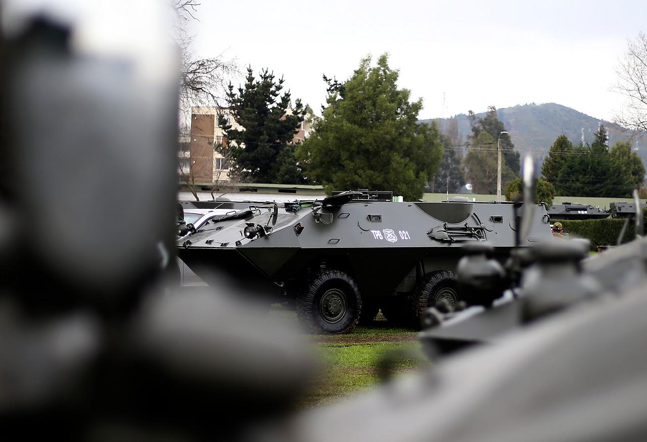Vehículos blindados del Comando