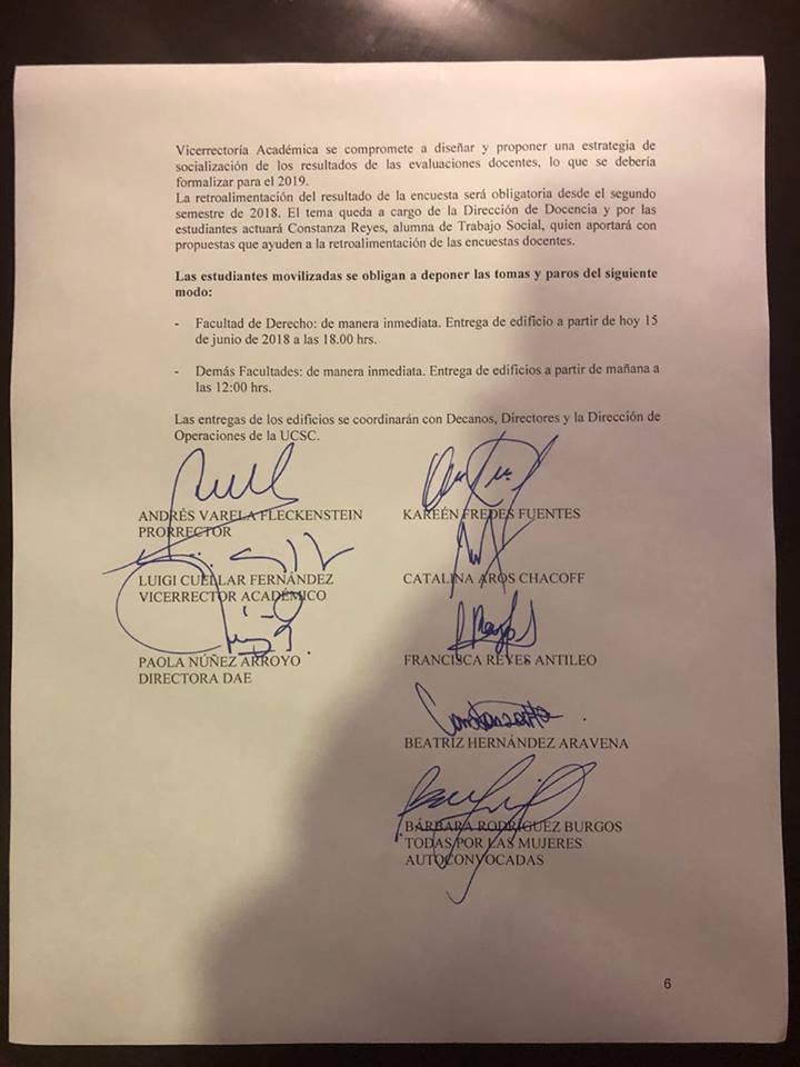 Acuerdo UCSC