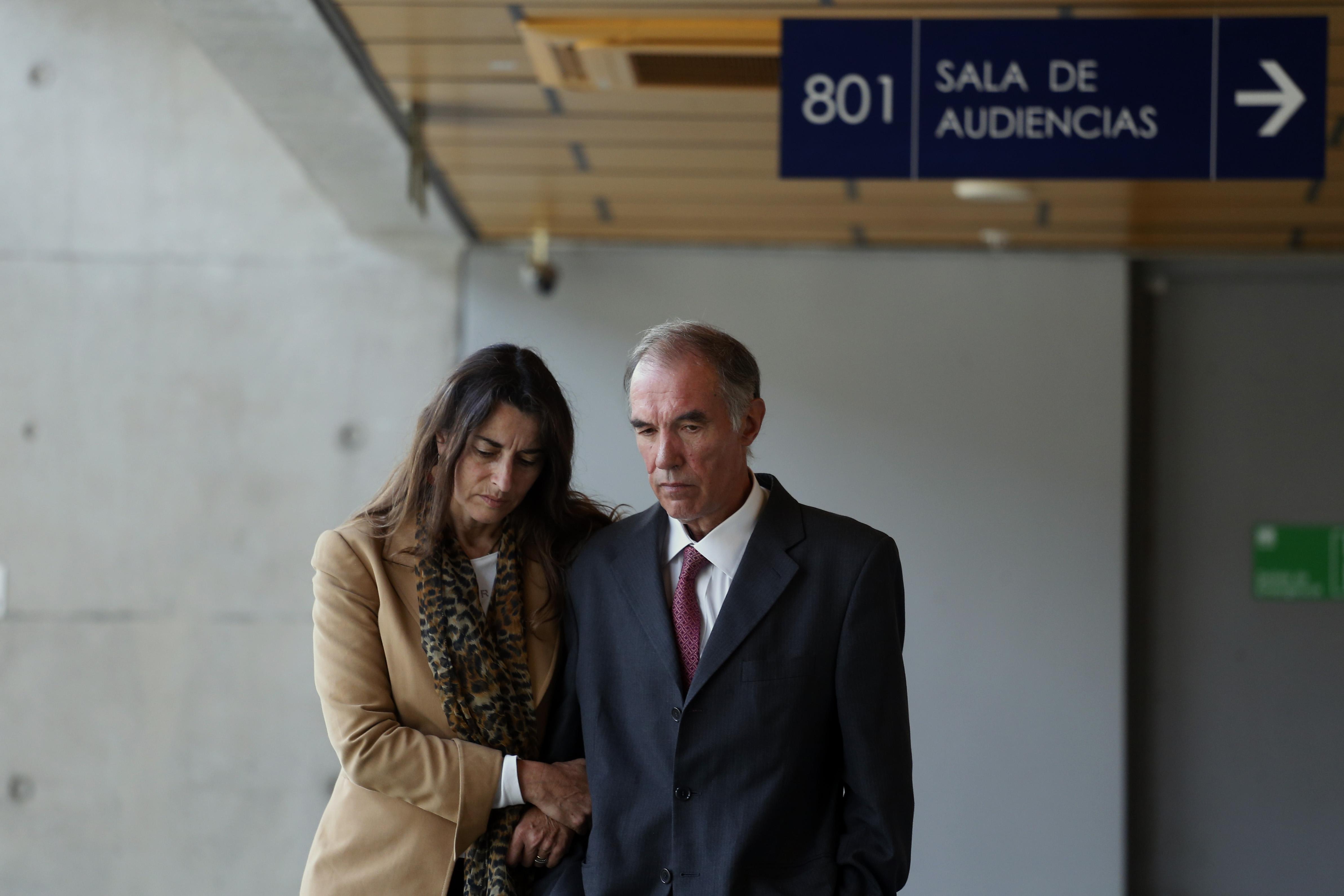 Exsenador Jaime Orpis junto a su esposa Ana Luisa Jouanne. Pablo Vera Lisperguer | Agencia UNO