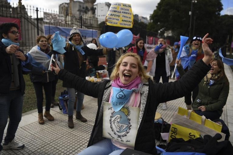 Contra el aborto | Agence France-Presse