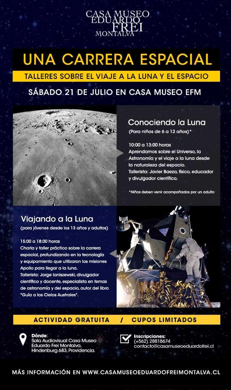 Afiche oficial del taller
