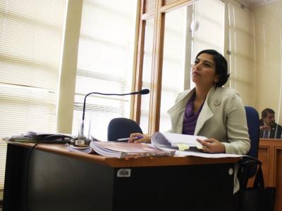 Fiscal jefe de Río Negro, Leyla Chahín Valenzuela   Ministerio Público