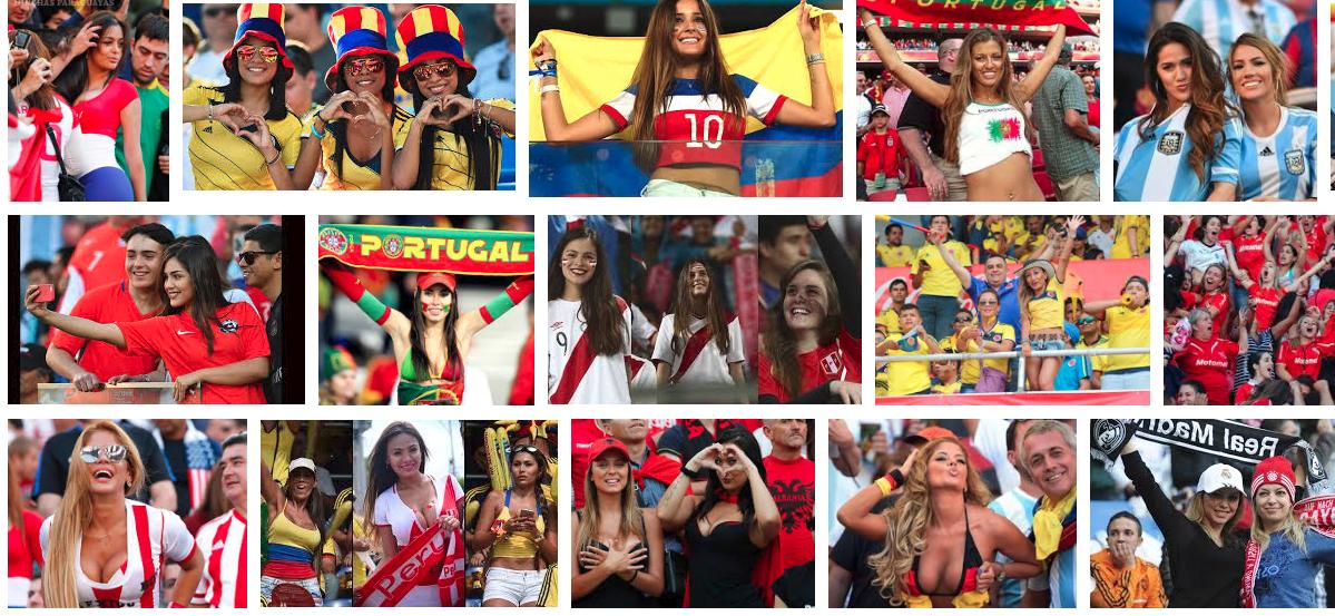 """Resultados en Google tras hacer una búsqueda de """"hinchas del fútbol mujeres"""""""