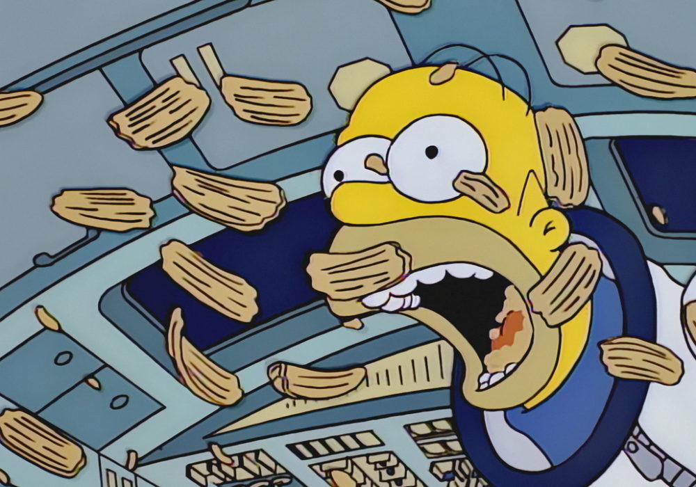 Escena del capítulo de Los Simpson que fue llevada a la Estación Espacial Internacional | FOX
