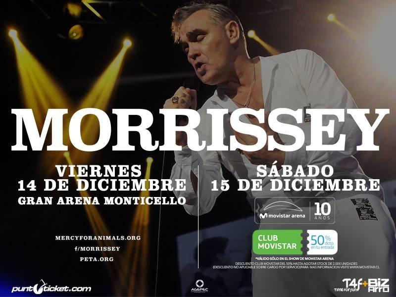 Morrissey en Chile | PuntoTicket