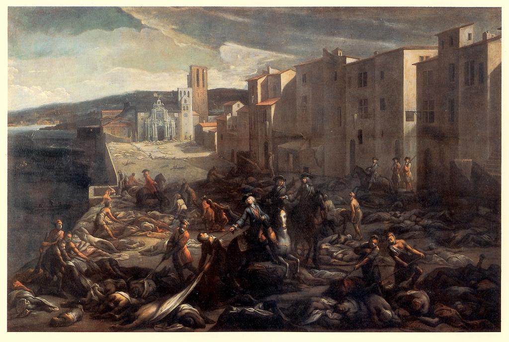 La peste de Marsella de 1720, fue el último brote de epidemia de peste registrado en Francia (CC) Wikimedia Commons